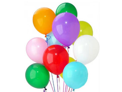 Rent your party balloons, helium